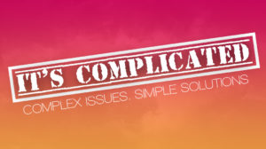 ITS COMPLICATED COMPLEX