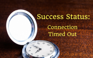 Success Status: Connection Timed Out