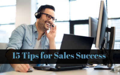 15 Tips For Sales Success