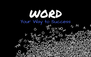 Word your way to success