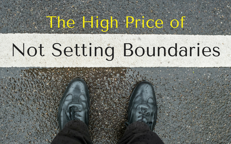 The price of not setting boundaries